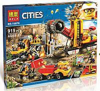 """Конструктор Bela 10876 """"Зона горных экспертов"""" (аналог Lego City 60188), 919 дет, фото 1"""