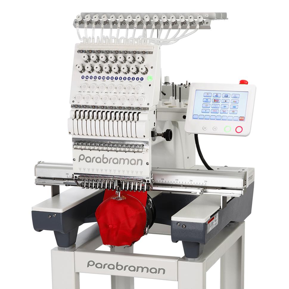 Parabraman PR-1501, пятнадцатиигольная промышленная вышивальная машина с полем вышивки 500 х 350 мм