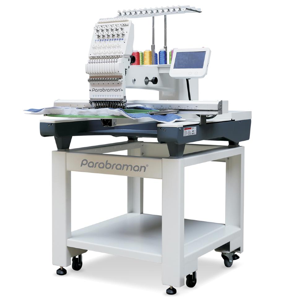 Parabraman PR-1501L, пятнадцатиигольная промышленная вышивальная машина с полем вышивки 800 х 500 мм