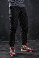 Мужские брюки черные Ink летние весенние , фото 1