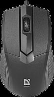 Мышь для ноутбука, ПК Defender Optimum MB-270, 1000 dpi USB