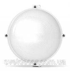 Светодиодный светильник для подъезда и других помещений ЖКХ VIDEX 18W IP65 Круглый Белый