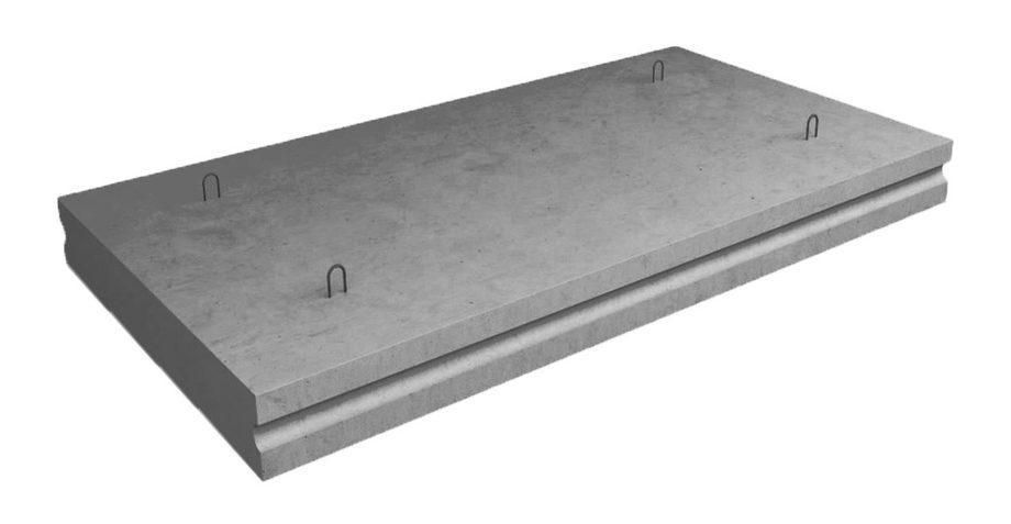 Плиты перекрытия лотков П 15-8  2990х1840х120мм