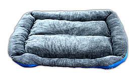Лежак-Квадрат плюшевый с лапкой 95*7*18 см.
