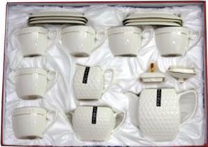 Набір чайний Interos Снігова королева PT0115 15предметів 240мл квадратний
