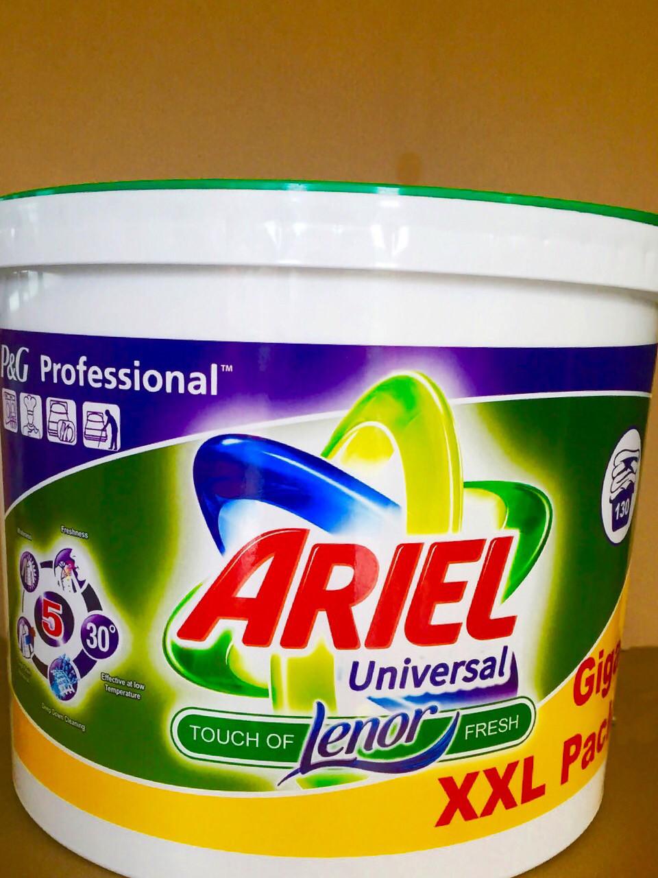 Стиральный порошок Ariel 10 кг, цена 245 грн., купить в Ужгороде — Prom.ua (ID#643165999)