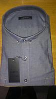 Мужская Рубашка с длинным рукавом большого размера батал DERGI Одесса