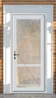 Двери металопластиковые одна створка