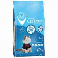 Наповнювач Van cat Ван кет бентонітовий грудкуючийся для котячого туалету з Свіжістю 10 кг