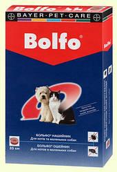 Нашийник Bayer Bolfo Байєр Больфо від бліх і кліщів для кішок 35см