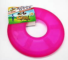 Игрушка резиновый мягкий диск-фрисби для собак с лапками 25 см.