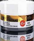 Крем-концентрат для лица Delia Cosmetics Gold&Collagen No-WRINKLE MULTI-FIRMER CONCENTRATED CREAM против морщи, фото 2