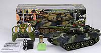 Игрушка танк Абрамс М1 на радиоуправлении, свет, звук двигателя выстрела, игрушечные танки, фото 1