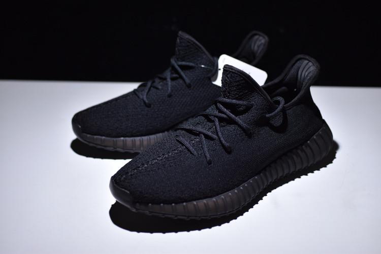 44cbecf9102f4e Adidas Yeezy Boost 350 V2 Triple Black Черные мужские - Интернет-магазин  спортивной обуви в