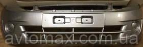 Бампер передний ВАЗ 2190 Лада Гранта крашенный, цвет Платина 691