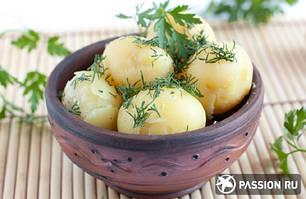 Картофель избавит от язвы желудка и изжоги