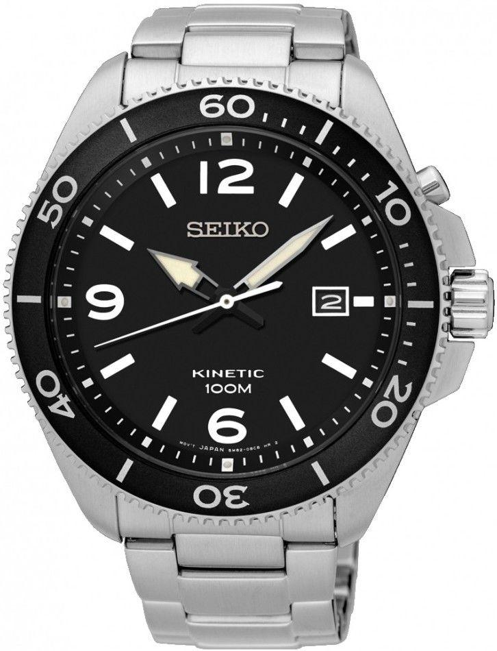 Часы Seiko SKA747P1 Kinetic 5M82