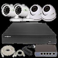 """Комплекты для видео-наблюдения """"Green Vision"""""""