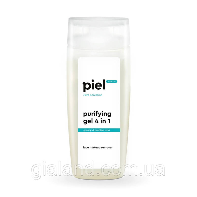 Piel cosmetics GEL DEMAQUILLANT 4in1 Face and Eye Makeup Remover Гель для снятия макияжа для проблемной кожи.