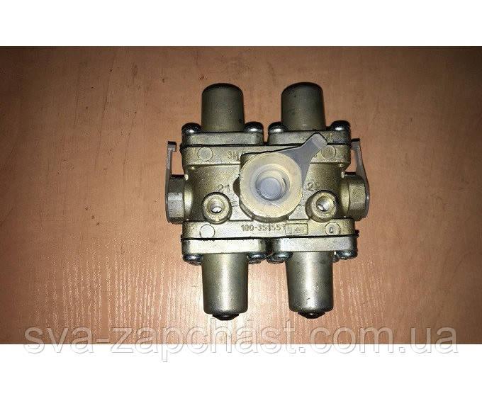 Клапан защитный КАМАЗ ЗИЛ МАЗ ПАЗ четырехконтурный 100.3515510-20