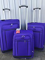 Малый тканевый чемодан Ormi 1318 на 2 колесах фиолетовый, фото 1