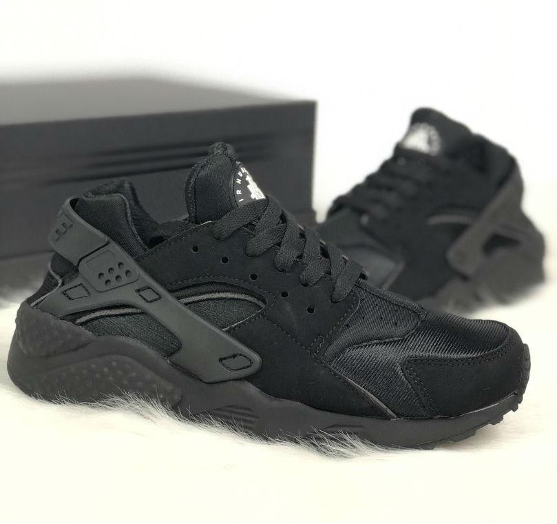 Nike Air Huarache Triple Black  dc4f113e09283
