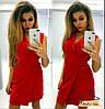 Женское стильное платье на запах (2 цвета)