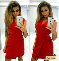 Женское стильное платье на запах (2 цвета), фото 1