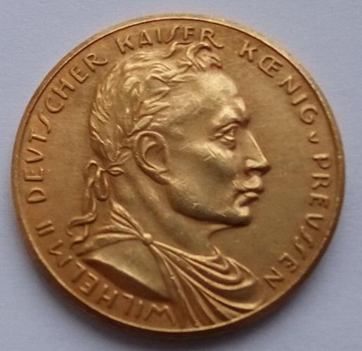 Германия. Вильгельм ІІ. 20 марок 1913 г.