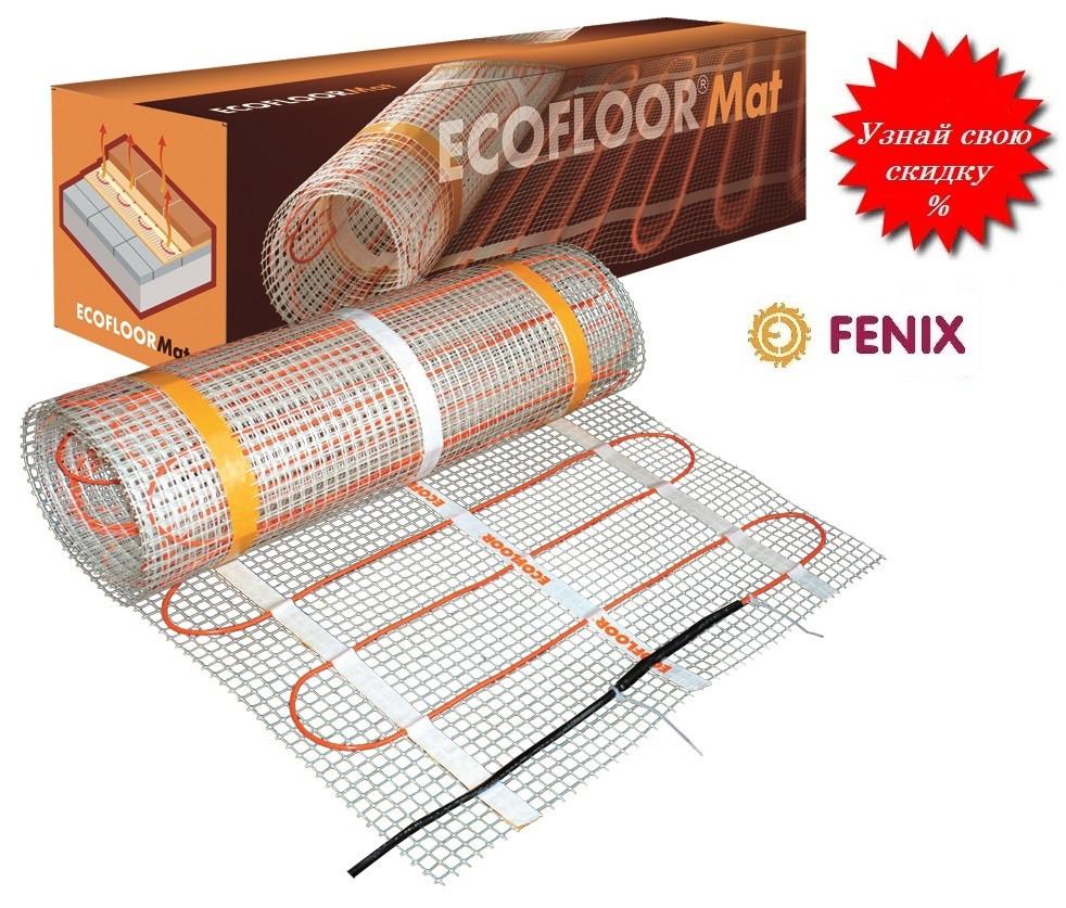 Теплый пол - Ультратонкий нагревательный мат Fenix СМ 150 / 4,0 м2 - 600 Вт (Чехия)