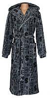 NEW! Мужские махровые халаты от производителя - Alphavit Grey микрофибра ТМ УКРТРИКОТАЖ уже в продаже!