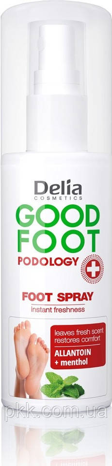 Дезодорант для ног Delia Cosmetics GOOD FOOT PODOLOGY Foot Spray