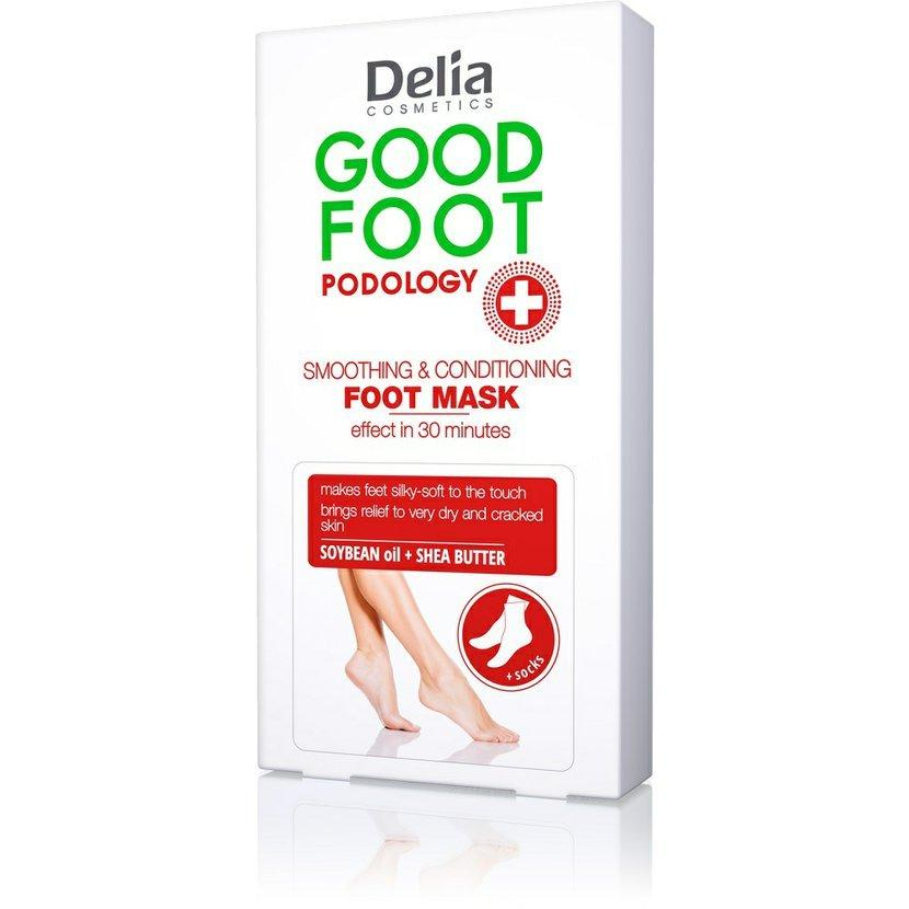 Маска для ног Delia Cosmetics GOOD FOOT PODOLOGY Smoothing & Conditioning Foot Mask