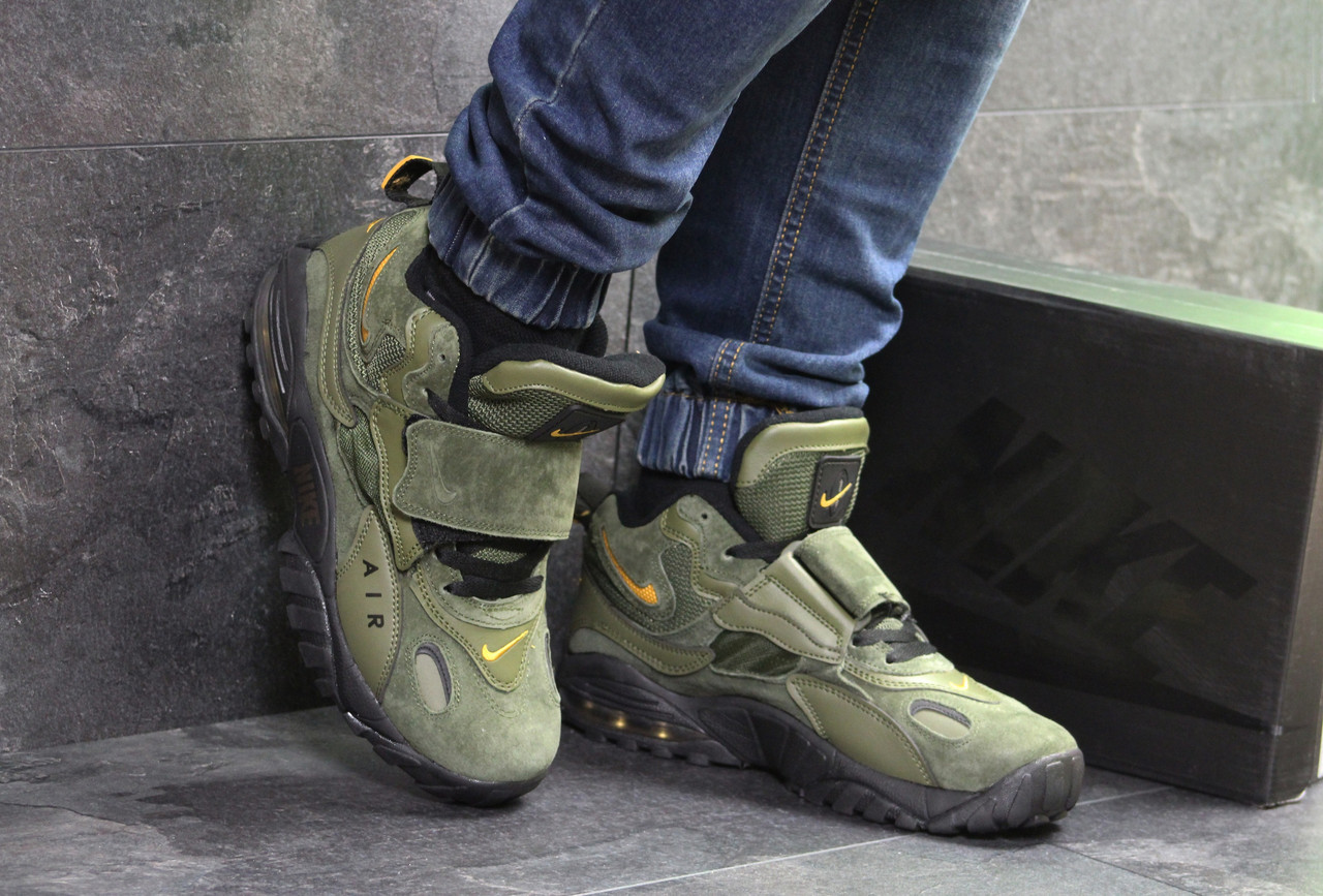 Мужские кроссовки Nike зеленые ( Реплика ААА+) - bonny-style в Хмельницком 3b55e02ed6ebe