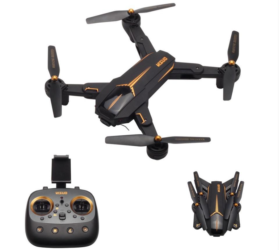 Квадрокоптер VISUO XS812 с GPS и FullHD FPV Камерой широкоугольной | Улучшенные XS809HW XS809S