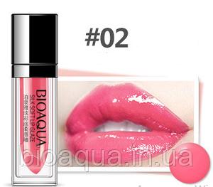 Жидкая Velvet помада для губ BIOAQUA Silk Soft Lip Glaze № 2 (5 ml)
