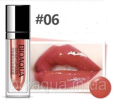 Жидкая Velvet помада для губ BIOAQUA Silk Soft Lip Glaze № 6 (5 ml)