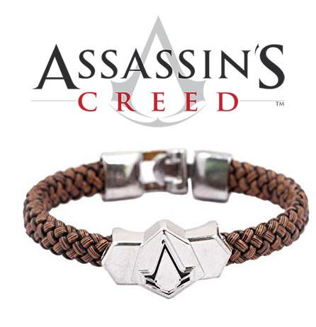 Браслет Кредо Ассасина Assassin's Creed плетеный