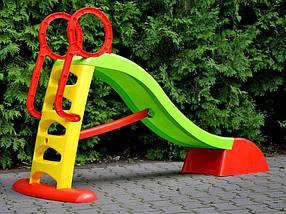Горка детская Mochtoys 180 см., фото 3