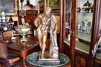 Бронзовая статуя Геркулес Фарнезский