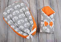 """Демисезонный набор для новорожденного """"Лисенок"""", фото 1"""