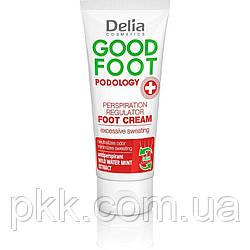 Крем для ног Delia Cosmetics GOOD FOOT PODOLOGY Perspiration  Regulator регулятор потоотделения