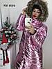 Куртка женская Пальто Расцветки Размеры 42- по 52 Утеплитель - синтипон 300 непромокаемая и непродуваемая, фото 5