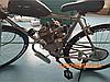Мотор 80 см3 (дирчик) Веломотор + спідометр, фото 2