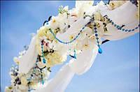 Цветочные арки, свадебные арки из живых и искусственных цветов, арка для росписи, арка для выездной церемонии