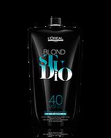 Проявитель для осветляющих средств L'oreal Blond Studio Creamy Nutri-Developer Platinium 12%,1000 мл