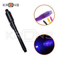 Ультрафиолетовая ручка с невидимыми чернилами