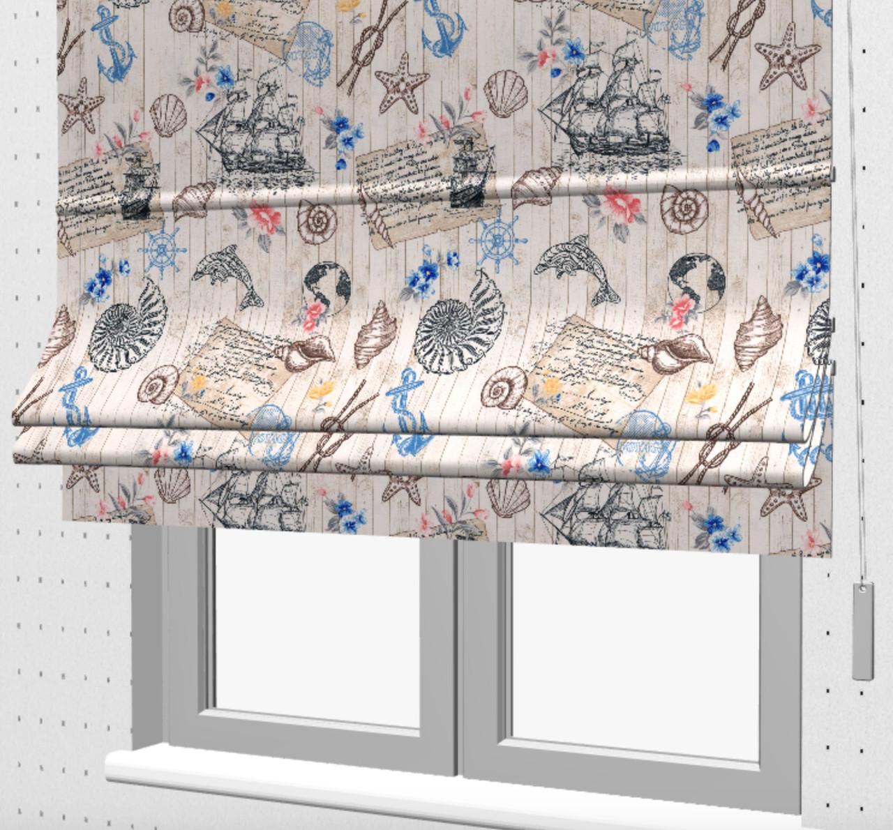 Римські штори в кімнату підлітка 160702v2