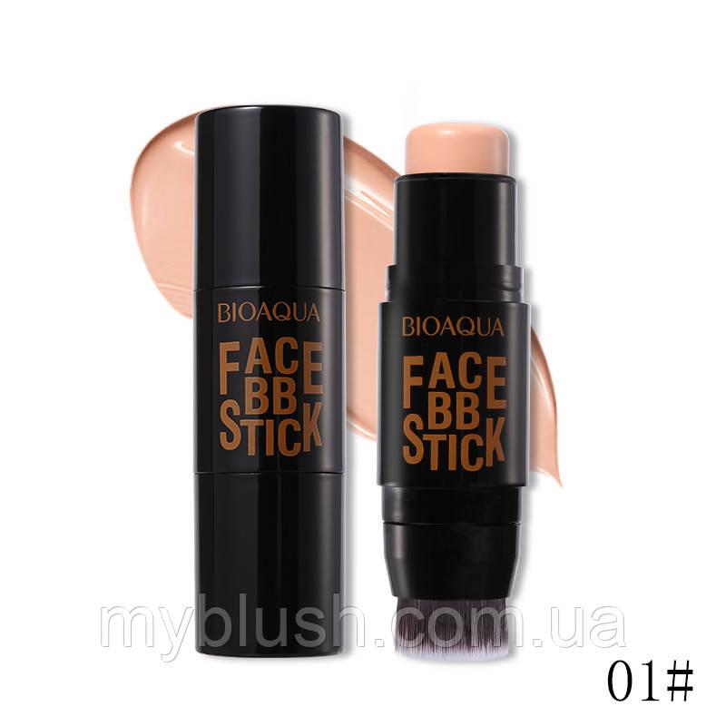 Тональный BB-стик Bioaqua Face BB Stick № 01 (Natural)