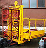 Висота Н-51 метрів. Вантажні щоглові підйомники, Будівельний підйомник з висувним лотком 1 тонна, 1000 кг., фото 3